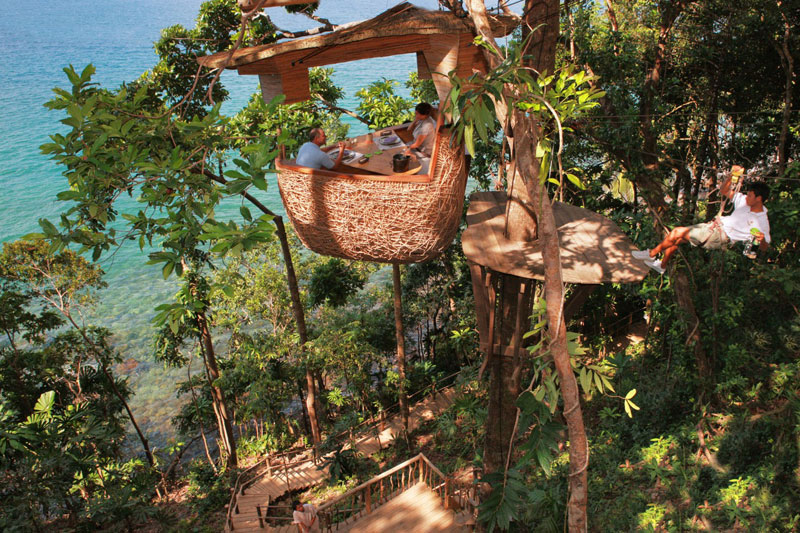 Treepod-dining-experience-at-Soneva-Kiri-Resort-Thailand