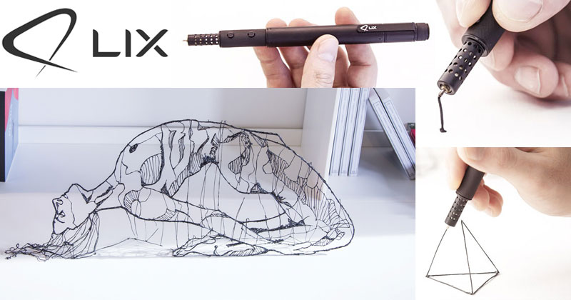 This is the World's Smallest 3D-Printing Pen
