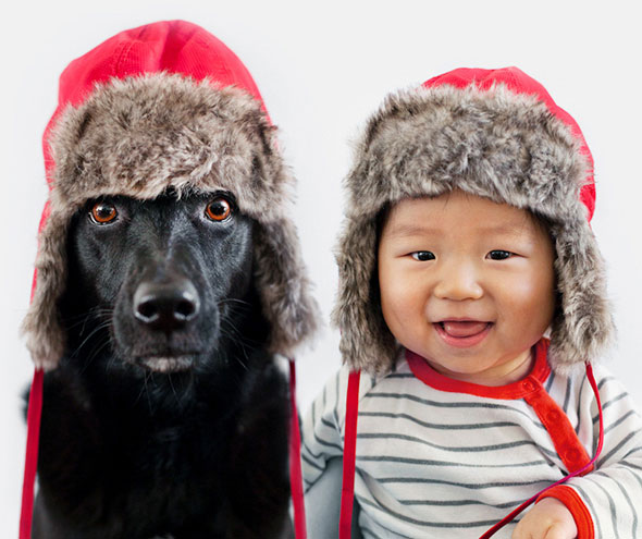 How a Rescue Dog from Taiwan and Baby Boy from LA became Best Friends