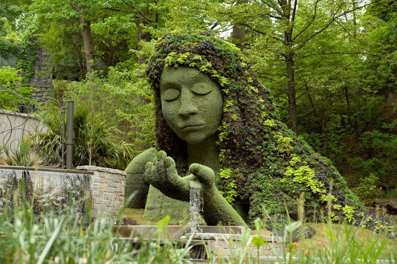 earth-goddess-plant-atlanta-botanical-gardens imaginary worlds