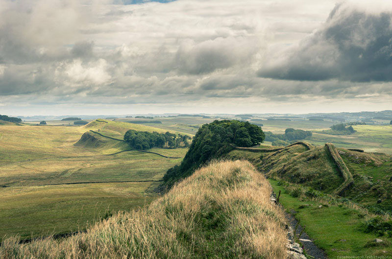hadrian's wall england unesco world heritage site