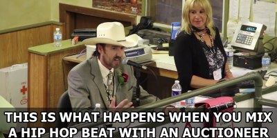 This is What Happens When You Mix a Hip Hop Beat with anAuctioneer