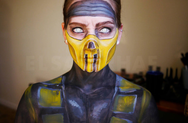 make up artist elsa rhae transforms her face (1)