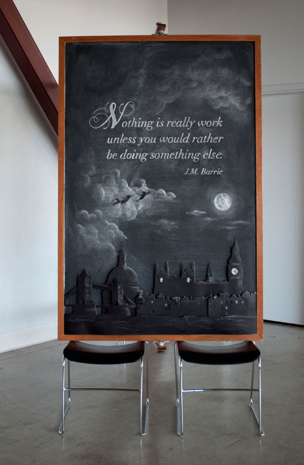 motivational chalk board drawings famous quotes by dangerdust (10)