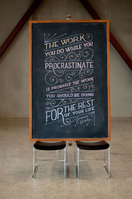 motivational chalk board drawings famous quotes by dangerdust (21)