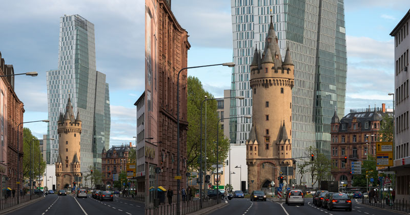 Picture of the Day: 600-year-old Tower in Front of a Modern High-Rise