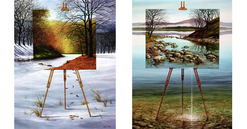 Paintings within Paintings by NeilSimone