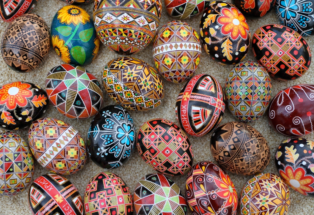 Picture of the Day: Ukrainian EasterEggs