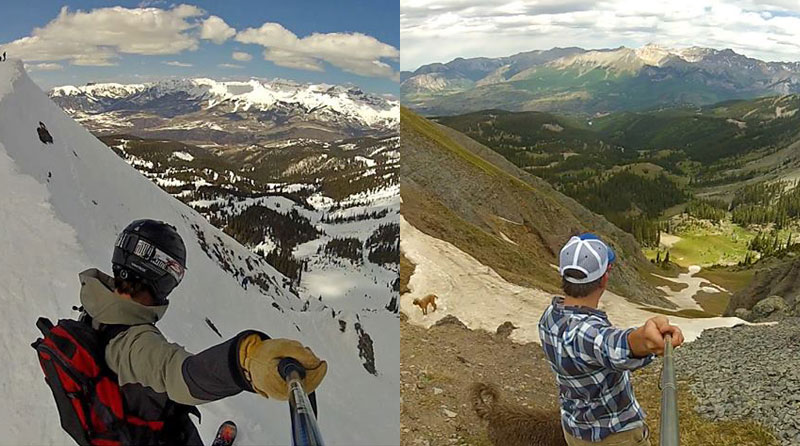 Picture of the Day: Same Spot, DifferentSeasons