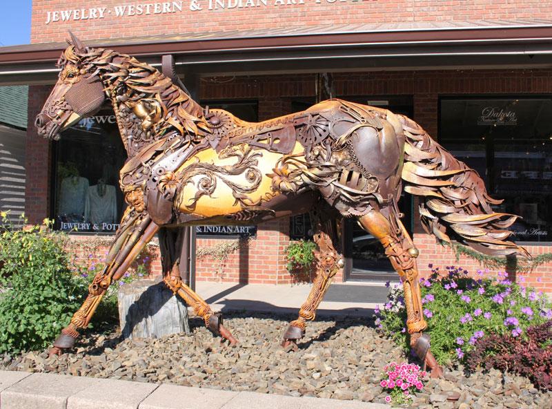 scrap metal stallion by john lopez (2)