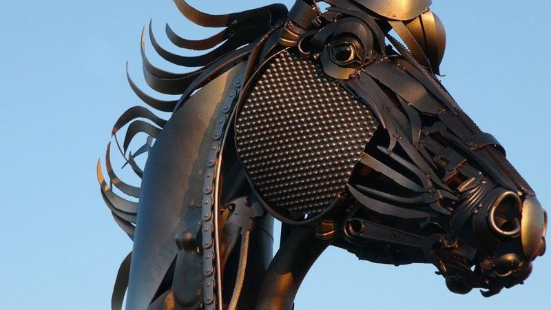 scrap metal stallion by john lopez (3)