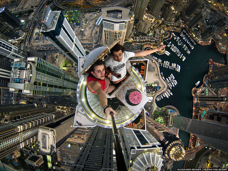 Picture of the Day: Atop the World's Tallest Residential Building