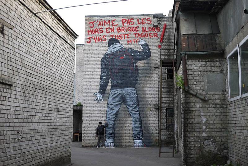 Street Art Graffiti By Mto 15 Twistedsifter