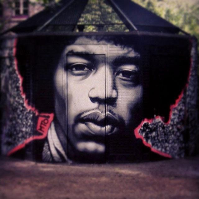 Assez 15 Hyperrealistic Street Art Portraits by MTO «TwistedSifter UV67