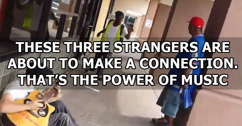This Guy Was Just Playing His Guitar When Two Strangers Joined In and Made SomethingBeautiful