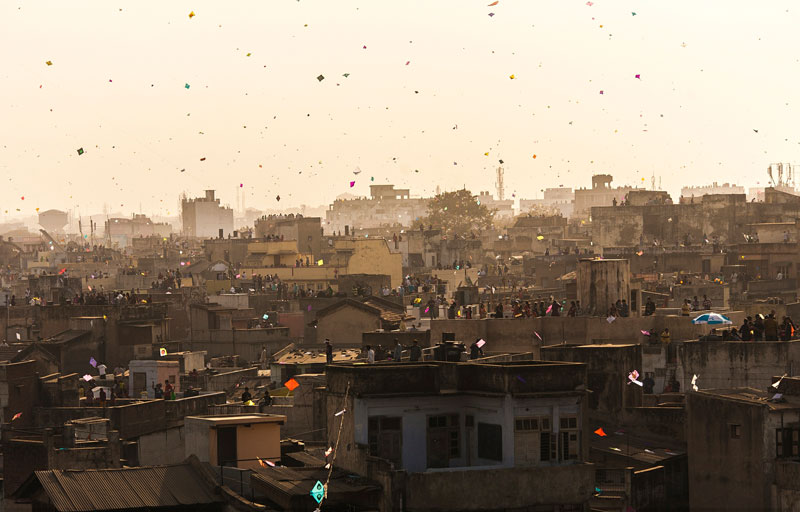 To Mark the End of Winter, Everyone in this Indian Region Flies a Kite