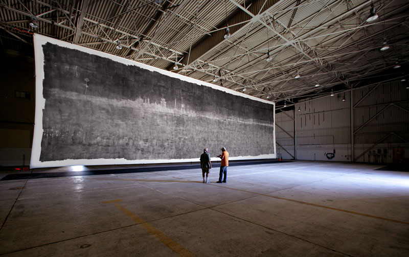 The World's Largest Photo, Taken with the World's LargestCamera