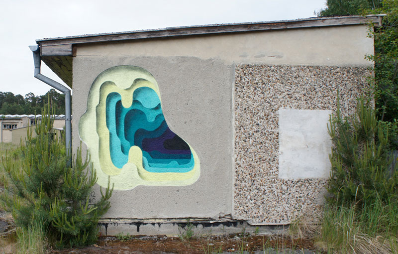 3d street art by 1010 portal to another dimension wormholes (1)