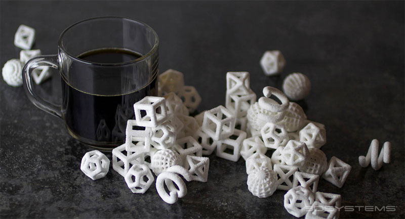 3d printed sugar cubes coffee An Alarm Clock That Wakes You Up with a Fresh Cup of Coffee