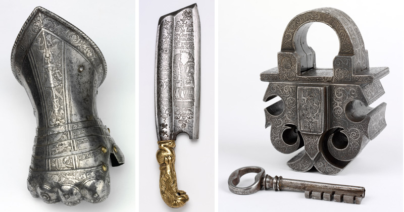 Acid-Etched Metal Art from theRenaissance