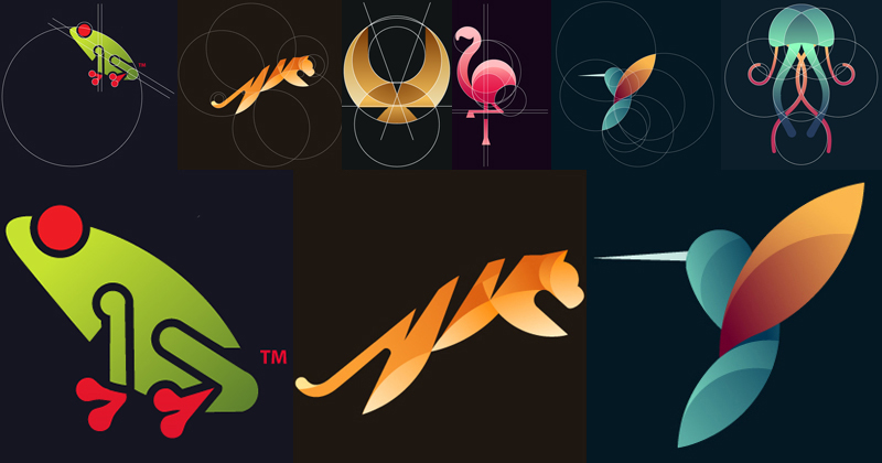 These Vector Logos for Animals are Awesome