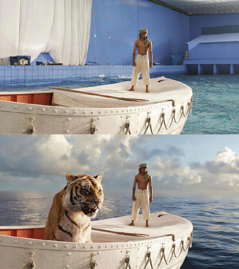 Before and After Shots That Demonstrate the Power of Visual Effects (13)