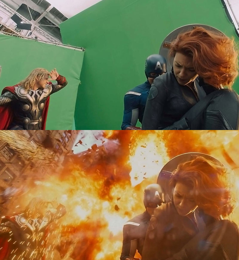 Before and After Shots That Demonstrate the Power of Visual Effects (18)