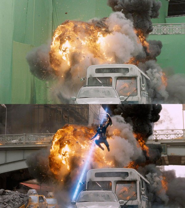 Before and After Shots That Demonstrate the Power of Visual Effects (19)