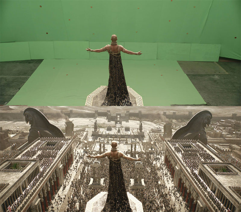 before and after shots that demonstrate the power of visual effects 2 The Digital Artists that Paint the Game of Thrones Landscapes