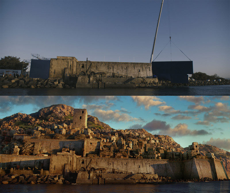 Before And After Shots That Demonstrate The Power Of Visual - 20 before and after shots that show the magic of visual effects