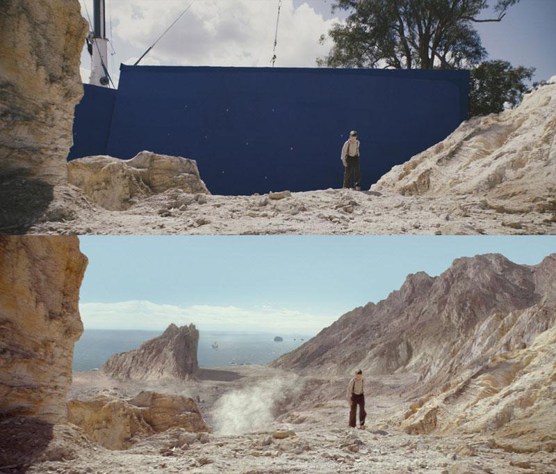 Antes e Depois Disparos que demonstram o poder de Efeitos Visuais (21)