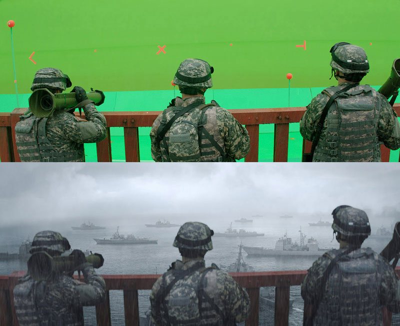 Before and After Shots That Demonstrate the Power of Visual Effects (24)