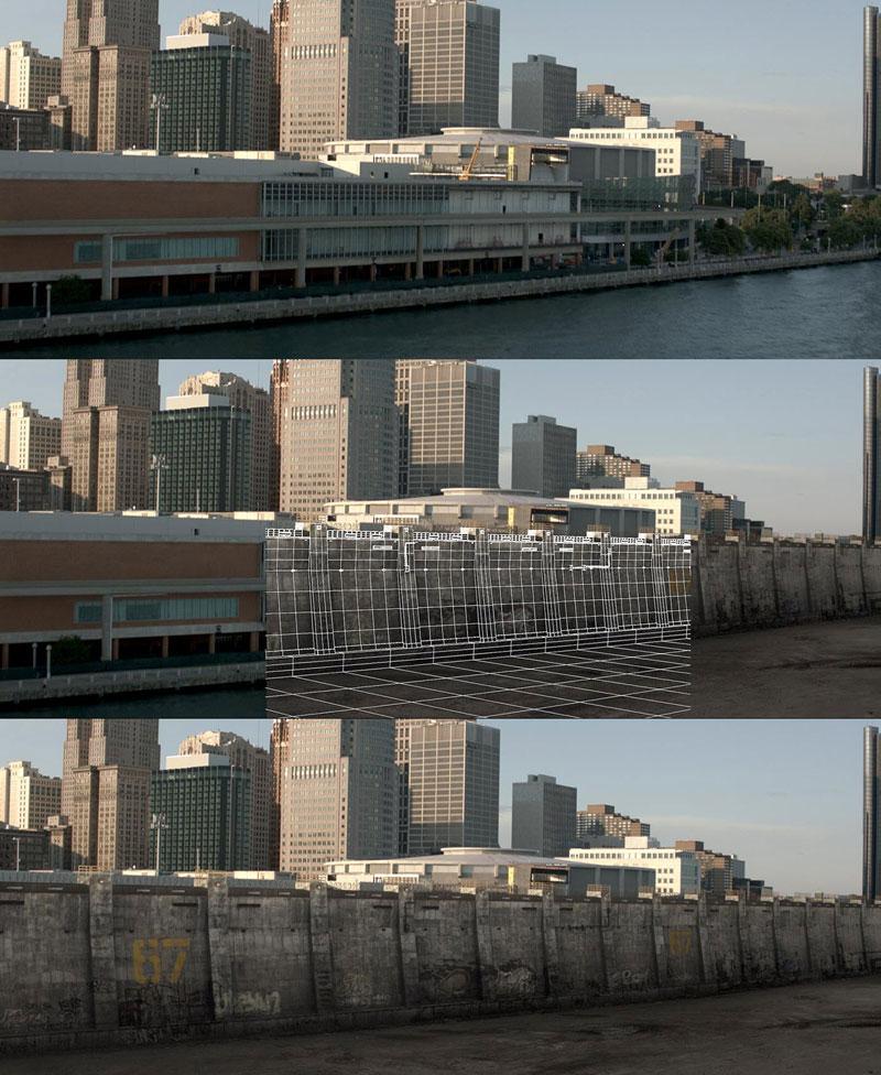 Antes e Depois Disparos que demonstram o poder de Efeitos Visuais (40)