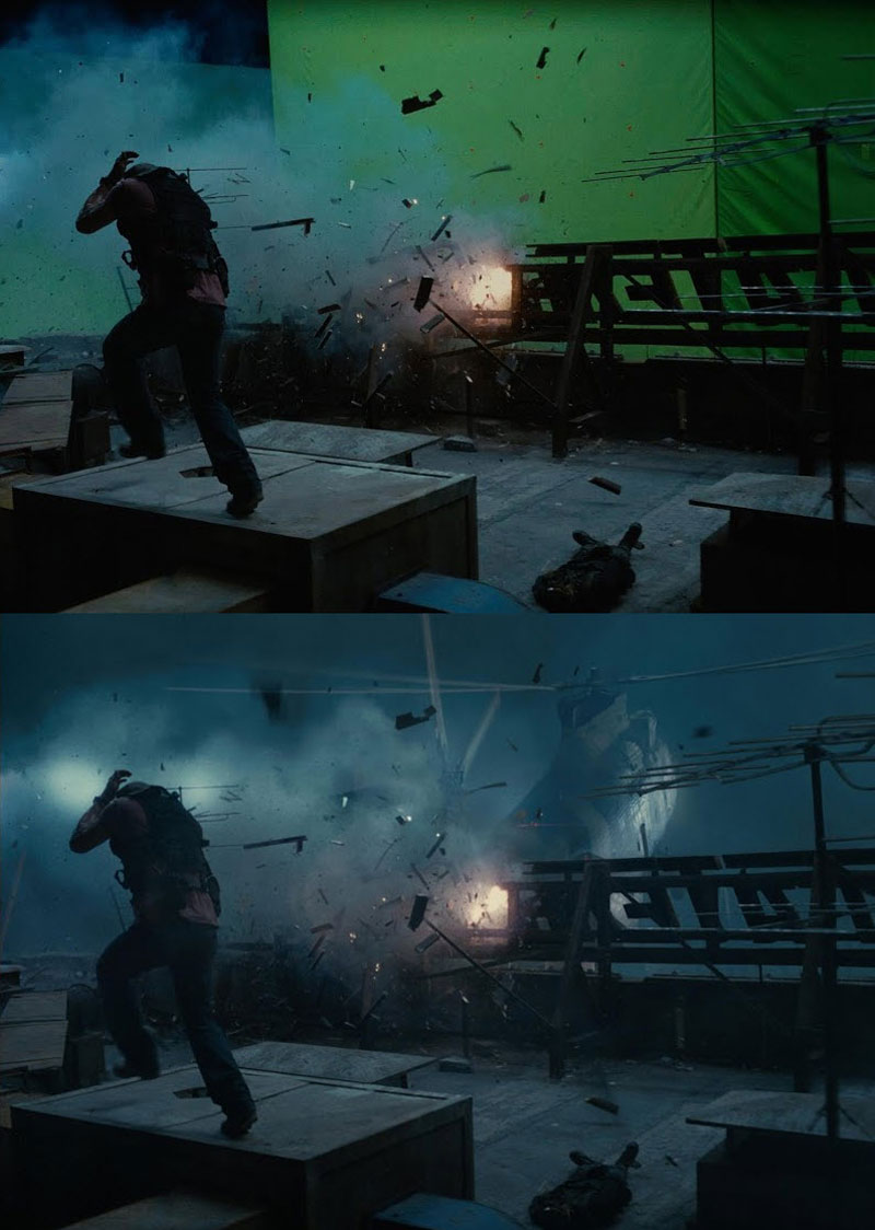 Before and After Shots That Demonstrate the Power of Visual Effects (8)