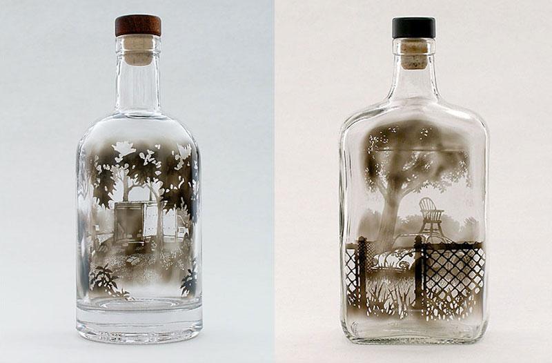 Bottled Smoke Art by JimDingilian