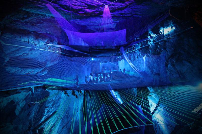 bounce below worlds largest underground trampoline (2)