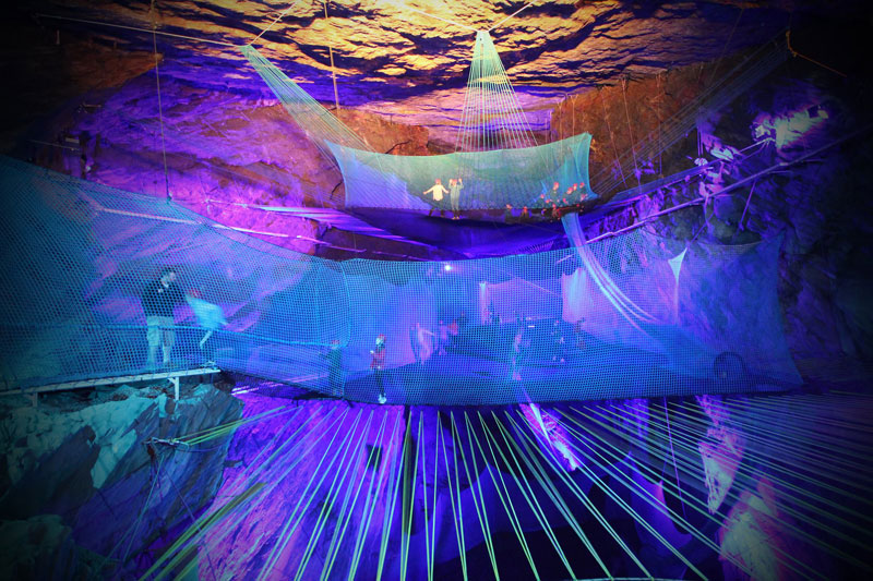 World's Largest Underground Trampoline Set to Open in July
