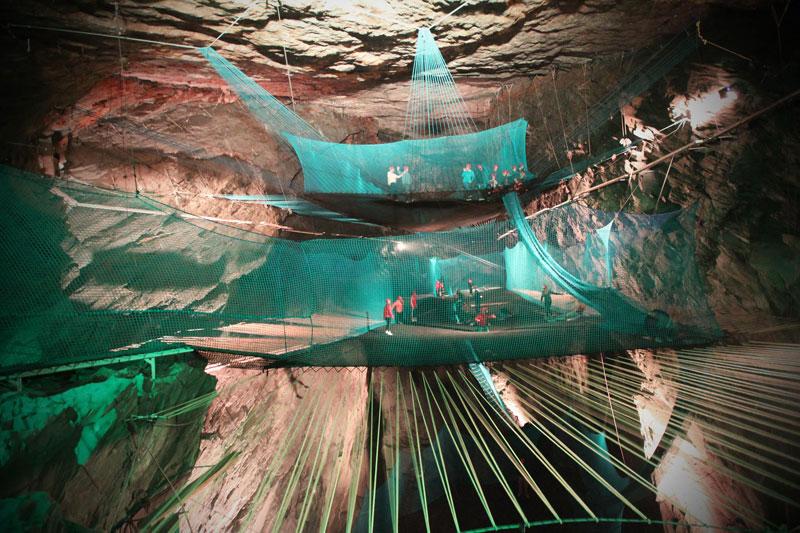 bounce below worlds largest underground trampoline (4)