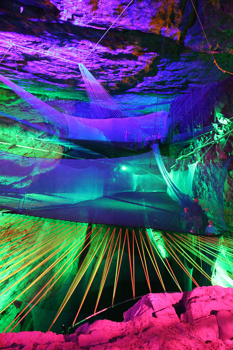 bounce below worlds largest underground trampoline (7)