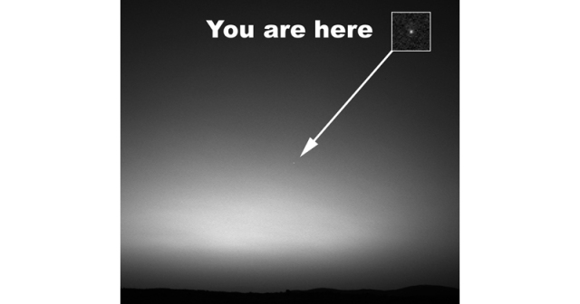 Picture of the Day: The First Image of Earth from Another Planet
