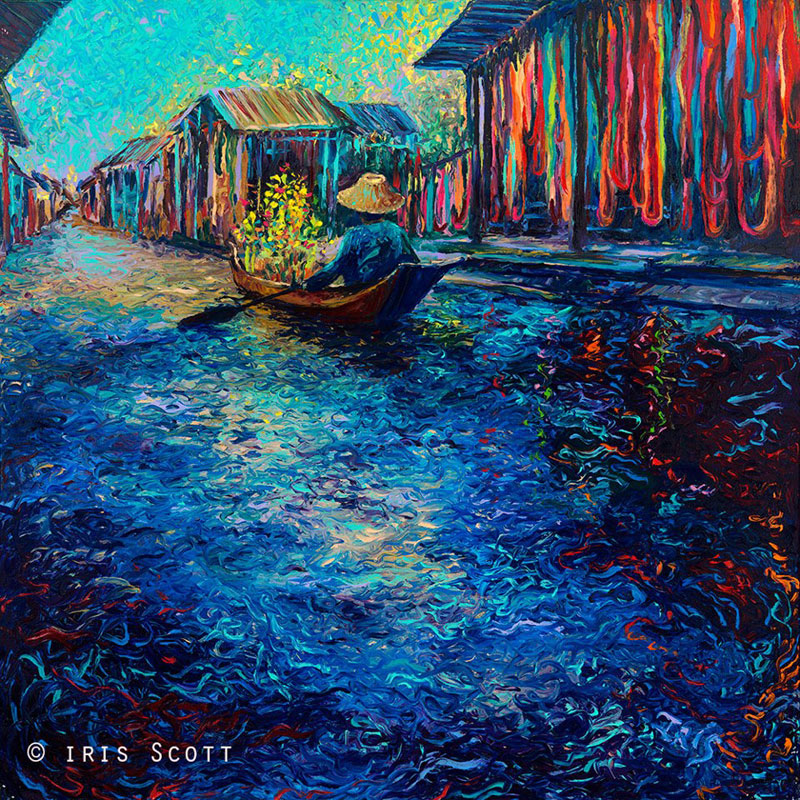 fine art finger paintings by iris scott (3)
