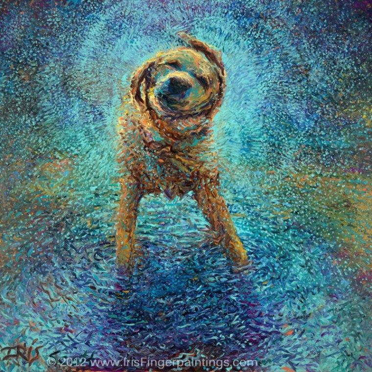 dedo arte pinturas de íris scott (5)