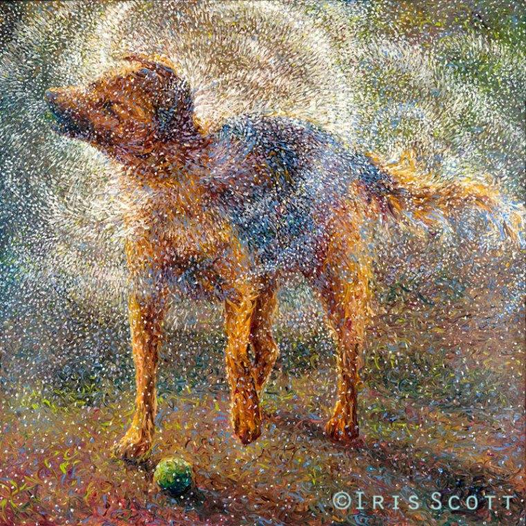 dedo arte pinturas de íris scott (6)