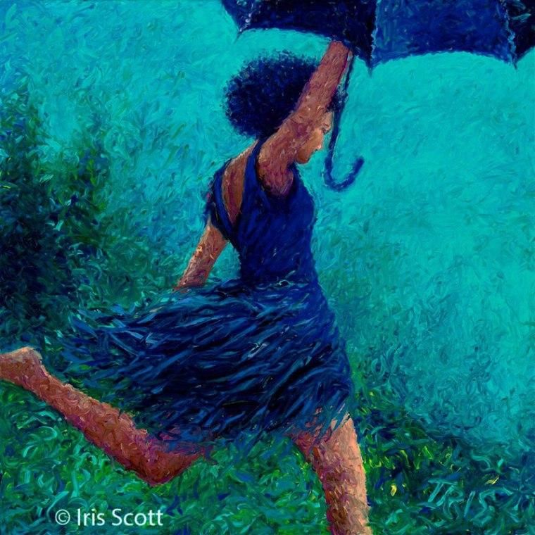 dedo arte pinturas de íris scott (7)