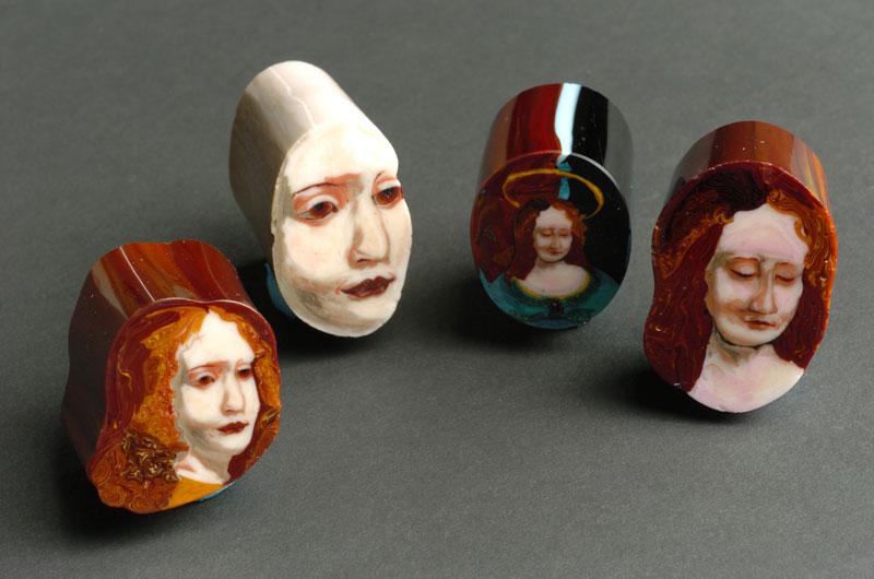 glass murrine by loren stump loaf of bread art (3)
