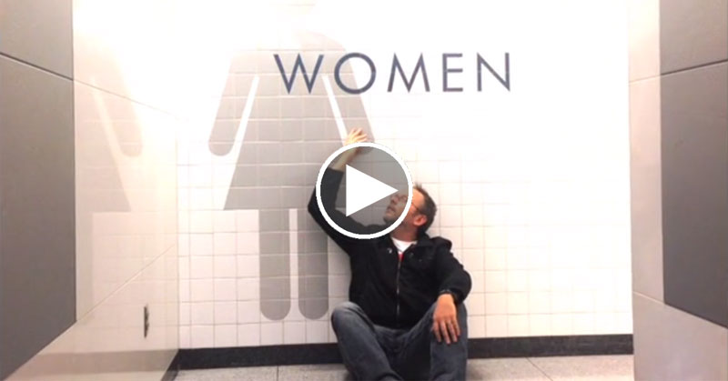 This Guy Got Stuck Overnight in an Airport So He Made a Music Video About It