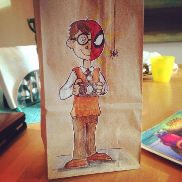 LUNCH BAG ART BY BRYAN DUNN (2)