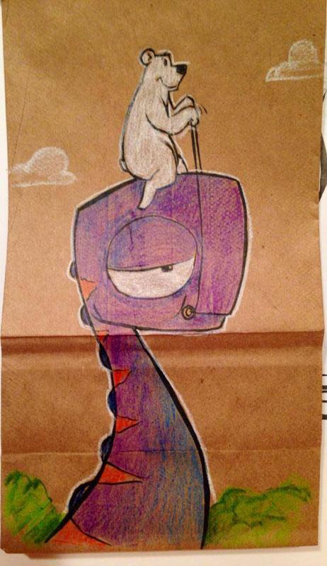 LUNCH BAG ART BY BRYAN DUNN (7)