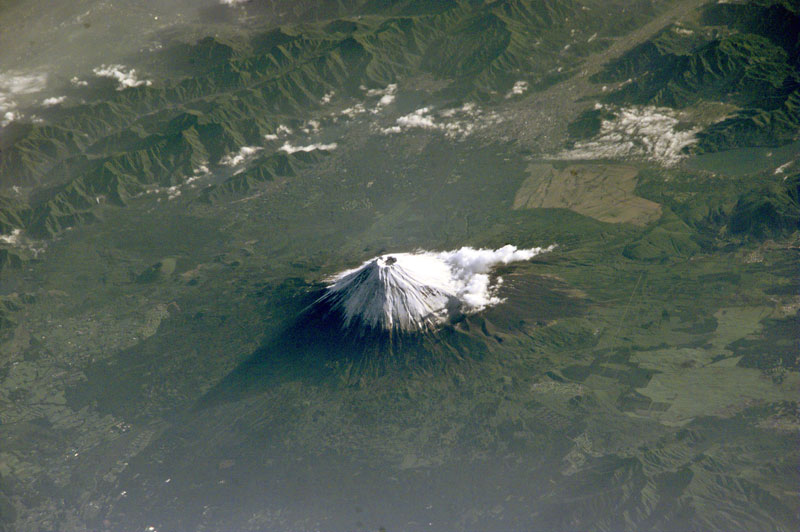 Picture of the Day: Mount Fuji from Space