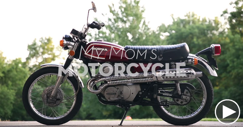 How a Mom Came to Own Her Son's Motorcycle
